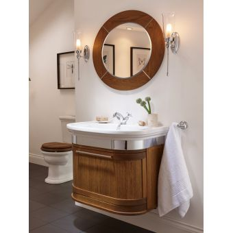 Imperial Carlyon Roseland 2 Drawer Wall Hung Vanity Unit