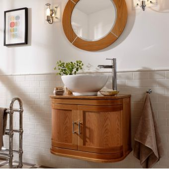 Imperial Carlyon Thurlestone Wall Hung Vanity Unit With Vessel Bowl