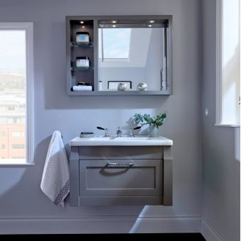 Imperial Radcliffe Westbury Wall-hung Vanity Unit with 1 Door
