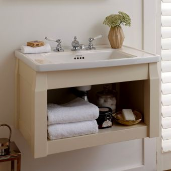 Imperial Radcliffe Westbury Wall-hung Open Vanity Unit