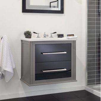 Imperial Radcliffe Attica Wall-hung 2 Drawer Vanity Unit