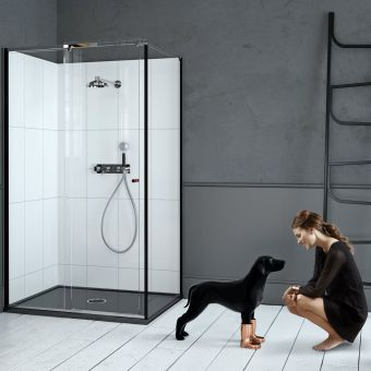 Matki-ONE Slider Corner Shower Enclosure