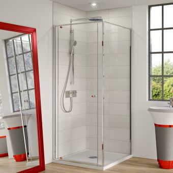 Matki-ONE Pivot Corner Shower Enclosure