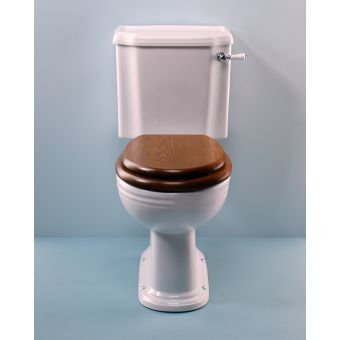 Silverdale Victorian Close Coupled Toilet