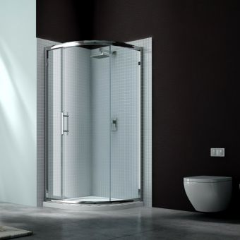 Merlyn Series 6 Single Door Quadrant Shower Door