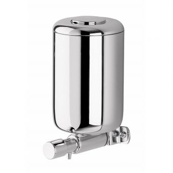 Inda Hotellerie 1 Litre Chrome Soap Dispenser