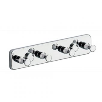 Inda Hotellerie Chrome Robe Hook