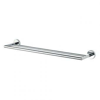 Inda Forum Double towel rail 66 x 6h x 14cm