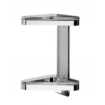 Inda Colorella Shower Shelf 17 x 31h x 18cm
