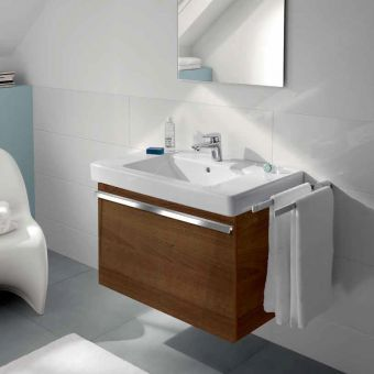 villeroy boch soho 2 subway vanity wash basin unit - Villeroy And Boch Bathroom Furniture