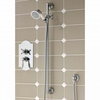 Imperial Amena Concealed Oxford Valve with Rail and Handset