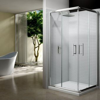 Merlyn Series 6 Corner Shower Door