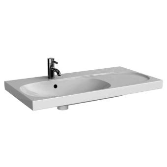 Geberit Acanto 90cm Washbasin With Right Shelf Surface