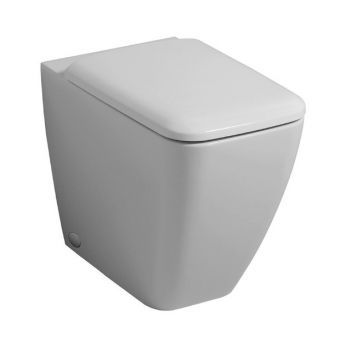 Geberit iCon Square Back-to-wall Rimfree Toilet