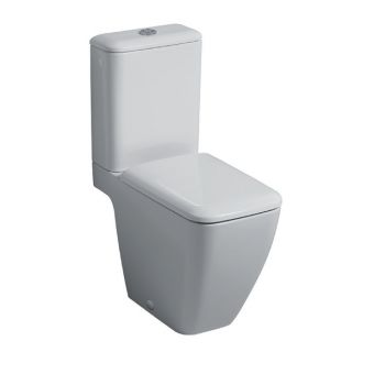 Geberit iCon Square Close Coupled Rimfree Toilet