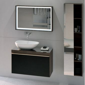 Geberit Citterio Vanity Unit with One Drawer and Lay-on Basin