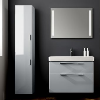 Geberit Smyle Tall Cabinet with One Door and Internal Mirror
