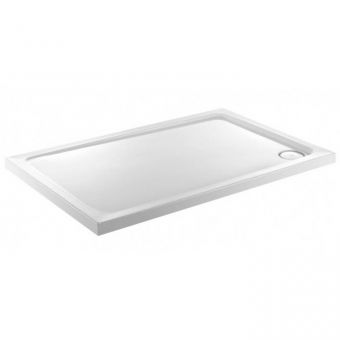 JT40 Fusion Low Profile Rectangular Shower Tray with Anti Slip - 800 to 1300mm