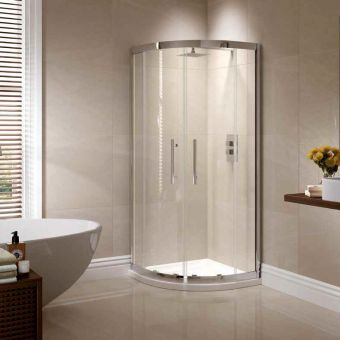 April Prestige Double Door Quadrant Shower Enclosure
