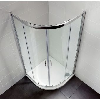 April Identiti2 Double Door Quadrant Shower Enclosure