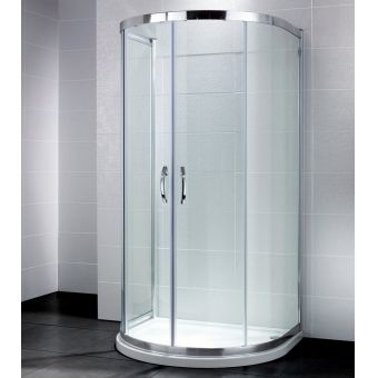 April Identiti2 U Shaped Quadrant Shower Enclosure
