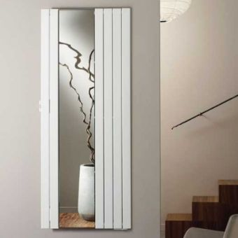 Zehnder Roda Radiator with Mirror