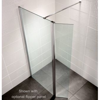Aquadart Wetroom 8 Walk-in Shower Panel