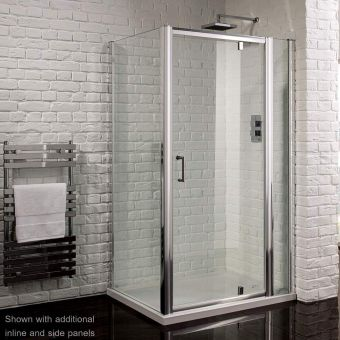 Aquadart Venturi 6 Pivot Door Shower Enclosure