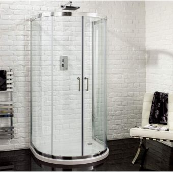 Aquadart Venturi 6 U Shaped Quadrant Shower Enclosure