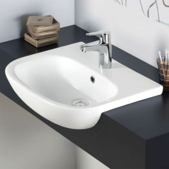 Origins Lily Semi Recessed Basin 52cm