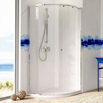 Matki-One Curved Corner Shower Enclosure