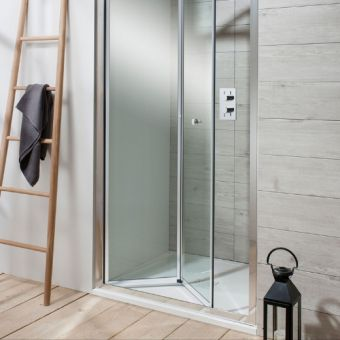 Simpsons Edge Bi-Fold Shower Door