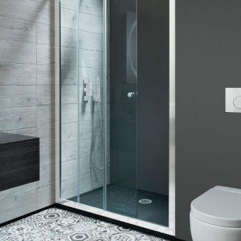 Simpsons Edge Single Sliding Shower Door