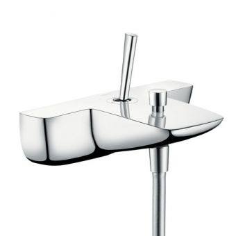 15472000 Hansgrohe PuraVida Single Lever Bath & Shower Mixer for Exposed Installation