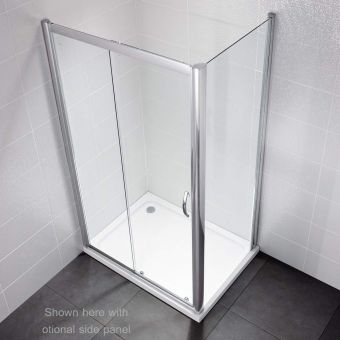 April Identiti2 Sliding Door Shower Enclosure