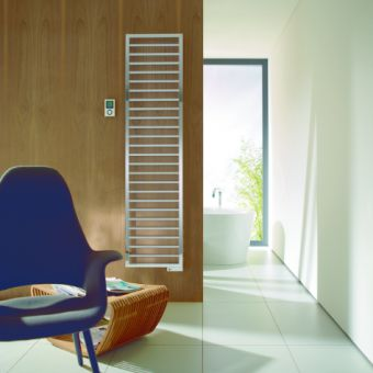 Villeroy and Boch By Zehnder Subway Electric Towel Drying Radiator