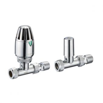 Pegler Terrier Straight Thermostatic Valve Pack