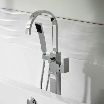 Origins Storm Freestanding Bath Shower Mixer Set