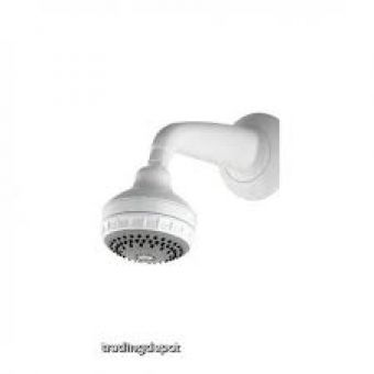 Aqualisa Turbostream built in fixed head White/Chrome Plated
