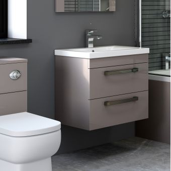 Origins Nevada Wall Hung Washbasin Unit
