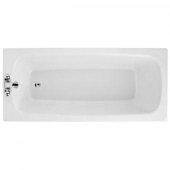Adamsez Solo Single Ended Bath - SOL/WH078