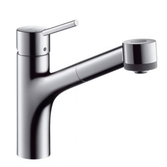 Hansgrohe Talis Kitchen Mixer Tap with Pull-out Spray