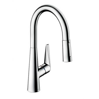 Hansgrohe  Talis S Single Lever Kitchen Mixer 200 with Pull-out Spray
