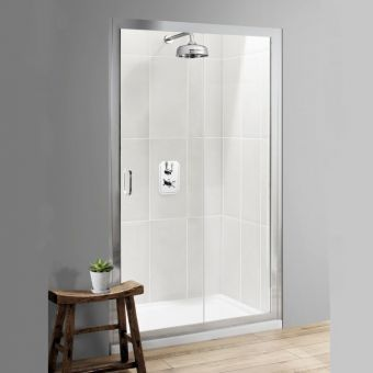 Simpsons Classic Single Slider Shower Door