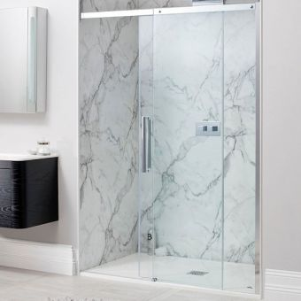 Simpsons Ten Single Slider Shower Door