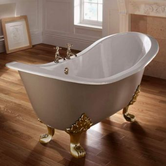 Imperial Sheraton Double Ended Slipper Bath