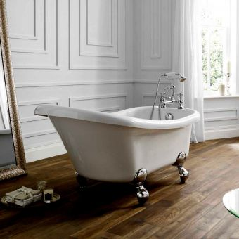 April Eldwick Victorian Slipper Bath