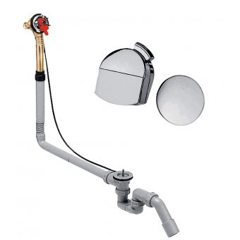 Hansgrohe Exafill Bath Filler with Waste and Overflow