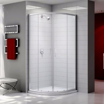 Merlyn Ionic 2 Door Quadrant Shower Enclosure