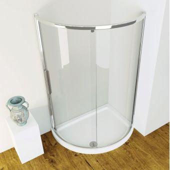 Kudos Original Offset Sliding Shower Enclosure - 3SCDOS91S